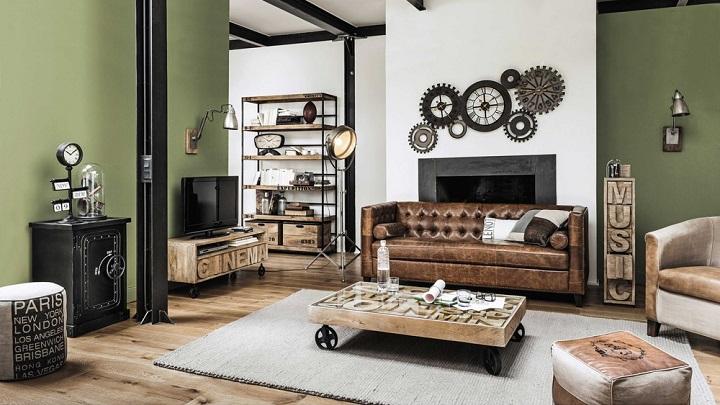 Muebles de estilo industrial, un clásico que no pasa de moda